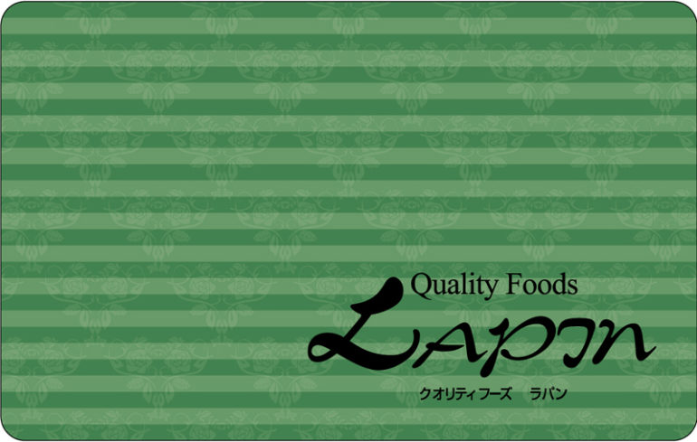 松江ラパンプリペイドカード